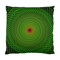 Green Fractal Simple Wire String Standard Cushion Case (one Side)