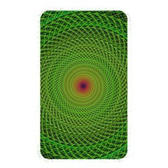 Green Fractal Simple Wire String Memory Card Reader