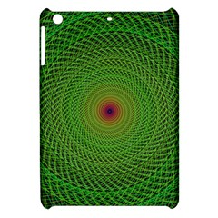 Green Fractal Simple Wire String Apple Ipad Mini Hardshell Case