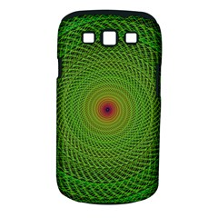 Green Fractal Simple Wire String Samsung Galaxy S Iii Classic Hardshell Case (pc+silicone)