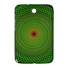 Green Fractal Simple Wire String Samsung Galaxy Note 8 0 N5100 Hardshell Case