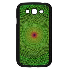 Green Fractal Simple Wire String Samsung Galaxy Grand Duos I9082 Case (black)
