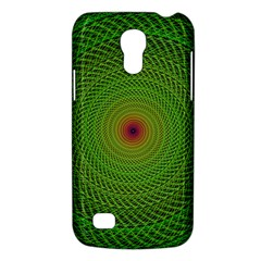 Green Fractal Simple Wire String Galaxy S4 Mini