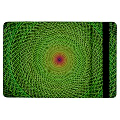 Green Fractal Simple Wire String Ipad Air Flip