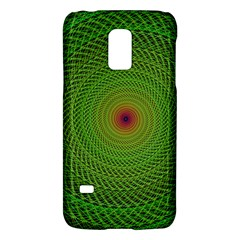 Green Fractal Simple Wire String Galaxy S5 Mini