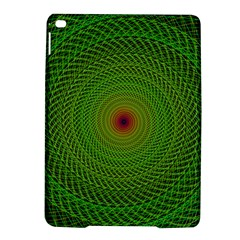 Green Fractal Simple Wire String Ipad Air 2 Hardshell Cases
