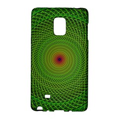 Green Fractal Simple Wire String Galaxy Note Edge