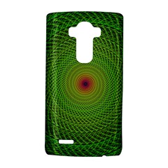 Green Fractal Simple Wire String Lg G4 Hardshell Case