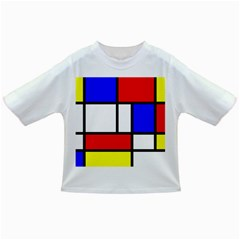 Mondrian Red Blue Yellow Infant/toddler T Shirts