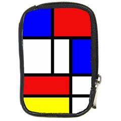 Mondrian Red Blue Yellow Compact Camera Cases