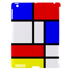 Mondrian Red Blue Yellow Apple Ipad 3/4 Hardshell Case (compatible With Smart Cover)