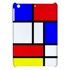 Mondrian Red Blue Yellow Apple Ipad Mini Hardshell Case