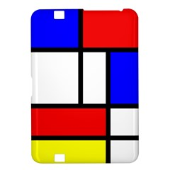 Mondrian Red Blue Yellow Kindle Fire Hd 8 9