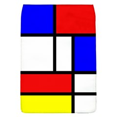 Mondrian Red Blue Yellow Flap Covers (l)