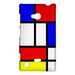 Mondrian Red Blue Yellow Nokia Lumia 720