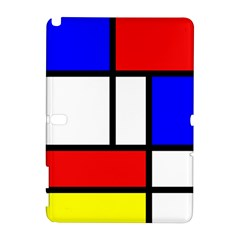 Mondrian Red Blue Yellow Galaxy Note 1