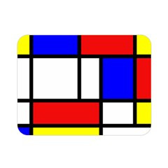 Mondrian Red Blue Yellow Double Sided Flano Blanket (mini)