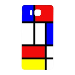Mondrian Red Blue Yellow Samsung Galaxy Alpha Hardshell Back Case
