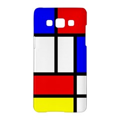 Mondrian Red Blue Yellow Samsung Galaxy A5 Hardshell Case