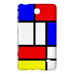 Mondrian Red Blue Yellow Samsung Galaxy Tab 4 (8 ) Hardshell Case