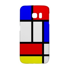 Mondrian Red Blue Yellow Galaxy S6 Edge