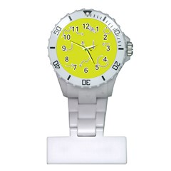 Arrow Line Sign Circle Flat Curve Plastic Nurses Watch
