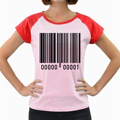 Code Data Digital Register Women s Cap Sleeve T-Shirt