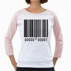 Code Data Digital Register Girly Raglans