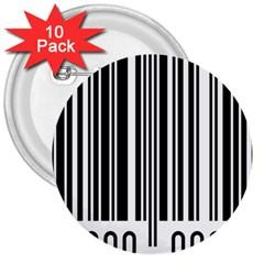 Code Data Digital Register 3  Buttons (10 pack)