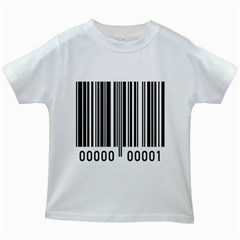 Code Data Digital Register Kids White T Shirts