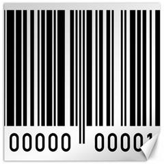 Code Data Digital Register Canvas 12  x 12
