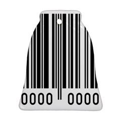 Code Data Digital Register Ornament (bell)