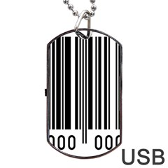 Code Data Digital Register Dog Tag Usb Flash (two Sides)