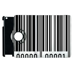 Code Data Digital Register Apple Ipad 3/4 Flip 360 Case