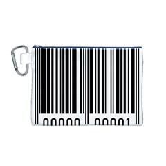 Code Data Digital Register Canvas Cosmetic Bag (m)