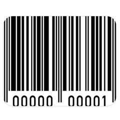 Code Data Digital Register Double Sided Flano Blanket (medium)