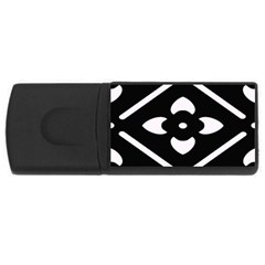 Pattern Background USB Flash Drive Rectangular (1 GB)