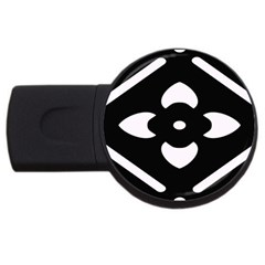 Pattern Background Usb Flash Drive Round (4 Gb)