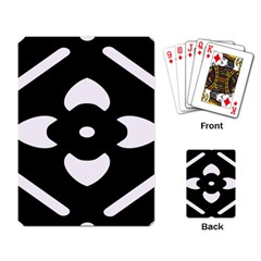 Pattern Background Playing Card