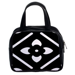 Pattern Background Classic Handbags (2 Sides)