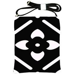 Pattern Background Shoulder Sling Bags