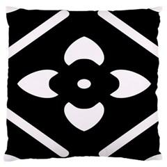 Pattern Background Large Cushion Case (one Side)