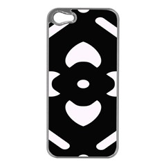 Pattern Background Apple Iphone 5 Case (silver)