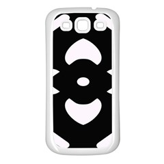 Pattern Background Samsung Galaxy S3 Back Case (white)