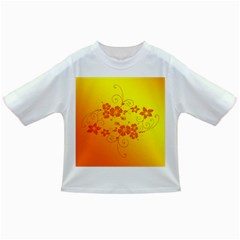 Flowers Floral Design Flora Yellow Infant/toddler T Shirts