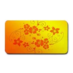 Flowers Floral Design Flora Yellow Medium Bar Mats