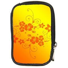 Flowers Floral Design Flora Yellow Compact Camera Cases
