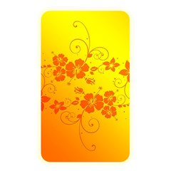 Flowers Floral Design Flora Yellow Memory Card Reader