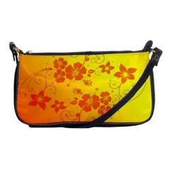Flowers Floral Design Flora Yellow Shoulder Clutch Bags