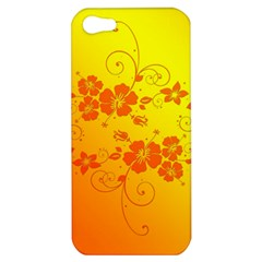 Flowers Floral Design Flora Yellow Apple Iphone 5 Hardshell Case